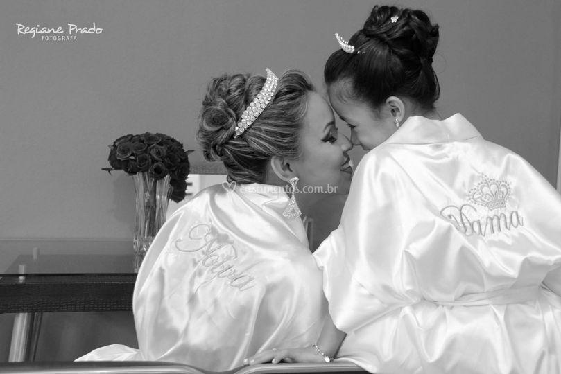 Filhos que participam do casam