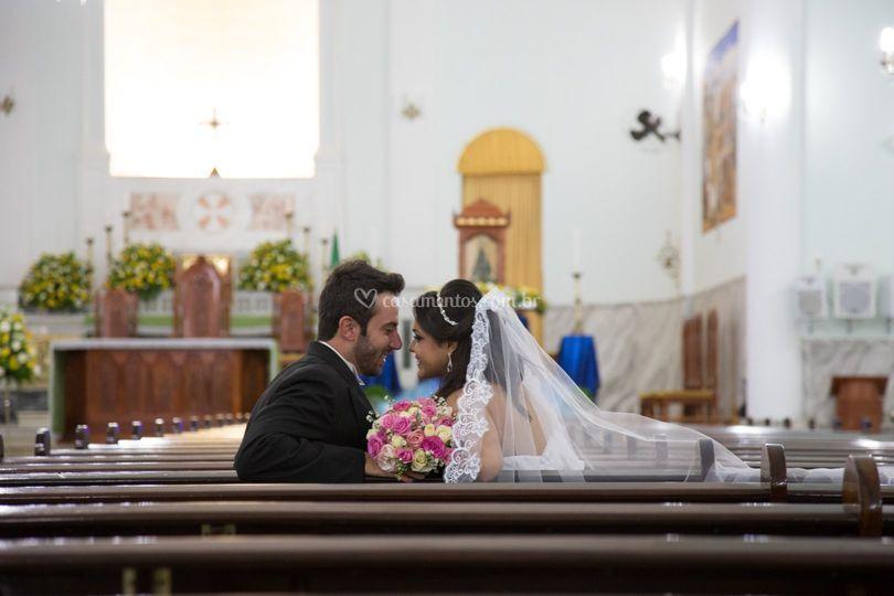 Juliano e Daniele pos casament