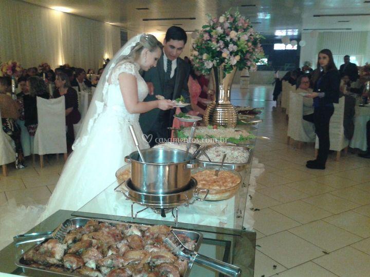 Diversidade de buffet