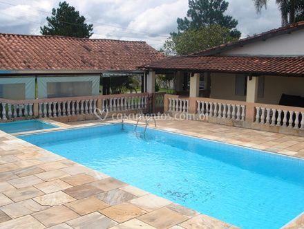 Vista para a piscina