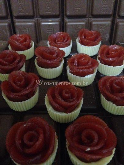 Rosas de goiaba
