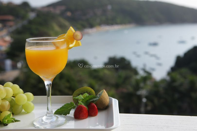 Drink vista mar