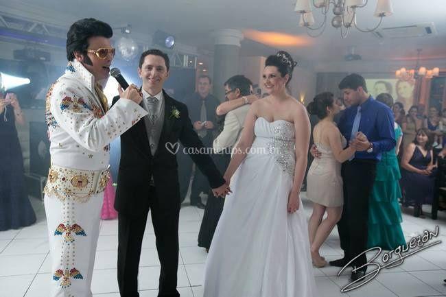 Show em festa de Casamento.