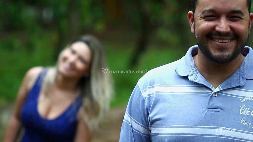 Ensaio Claudia e Tiago