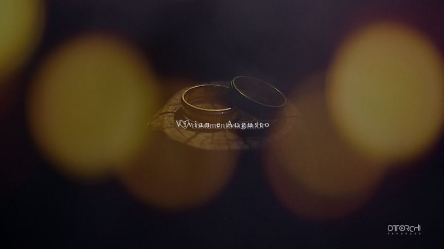 Alianças  Vivian e Augusto