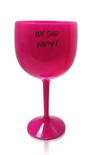 Taça Gin Rosa Party