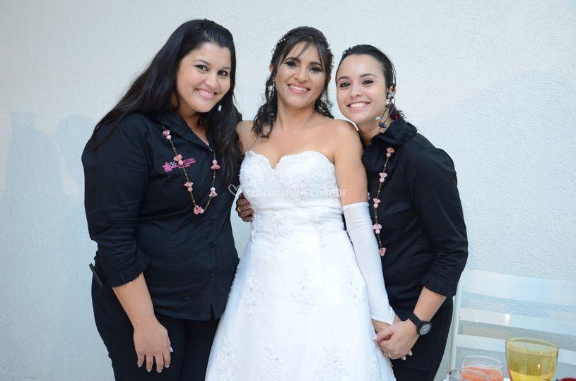 Sempre ao lado da noiva