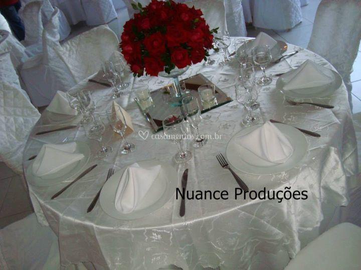 Mesa para convidado