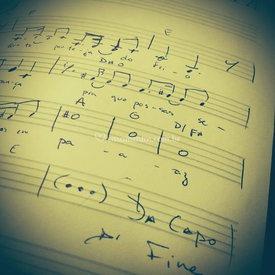 Rascunho - Canção