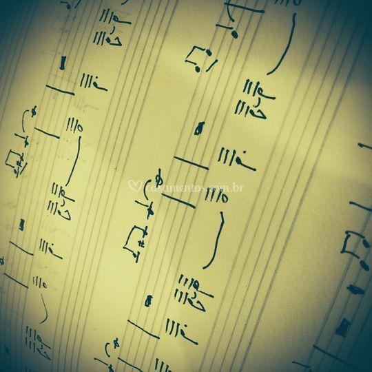Manuscrito - Peça Instrumental