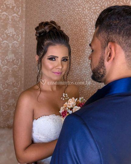Foto casal noivos