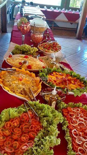 Mesas de buffet