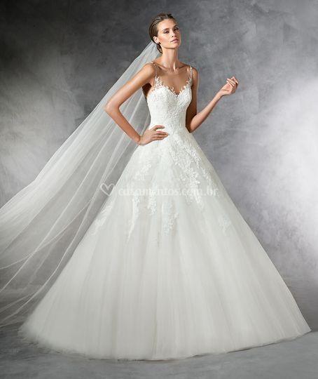 Requintado vestido princesa