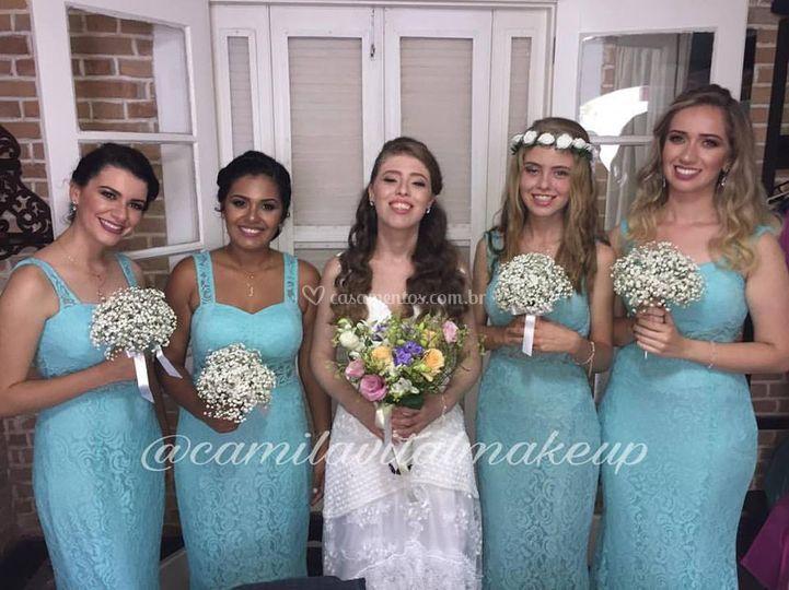 Noiva em Madrinhas
