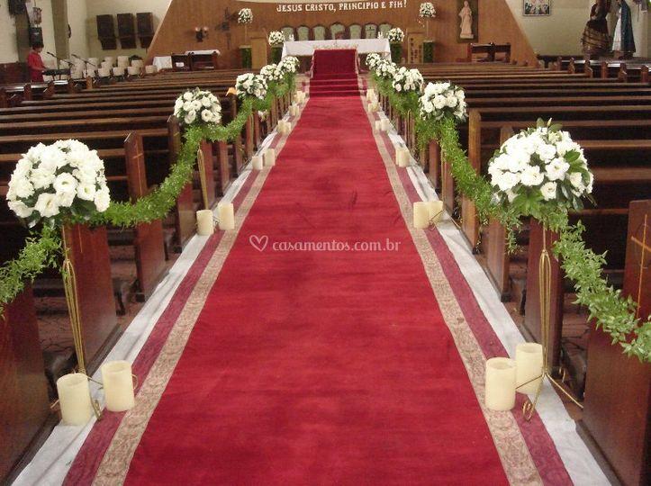 Decoração do altar