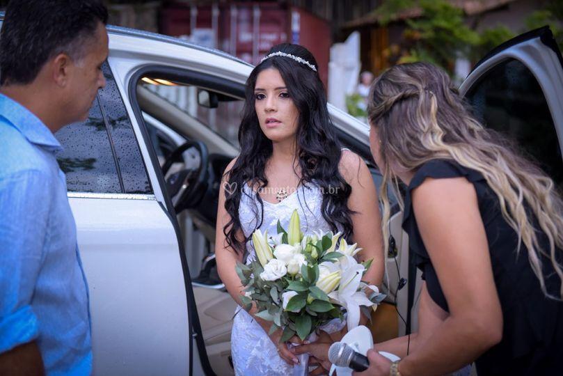 Chegada da noiva..