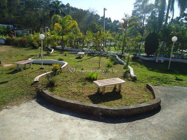Jardim do estacionamento