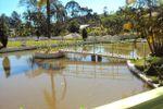 Lago com ponte de Ch�cara Vale das �guas