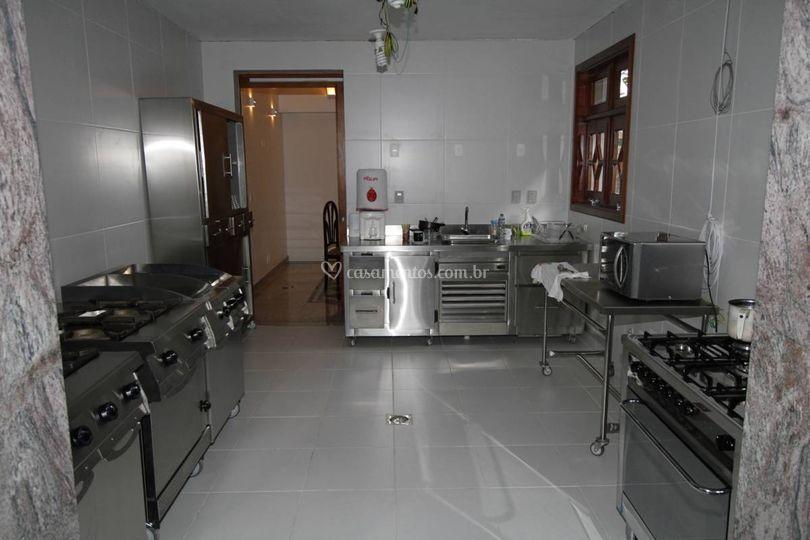 Cozinha gourmet industrial