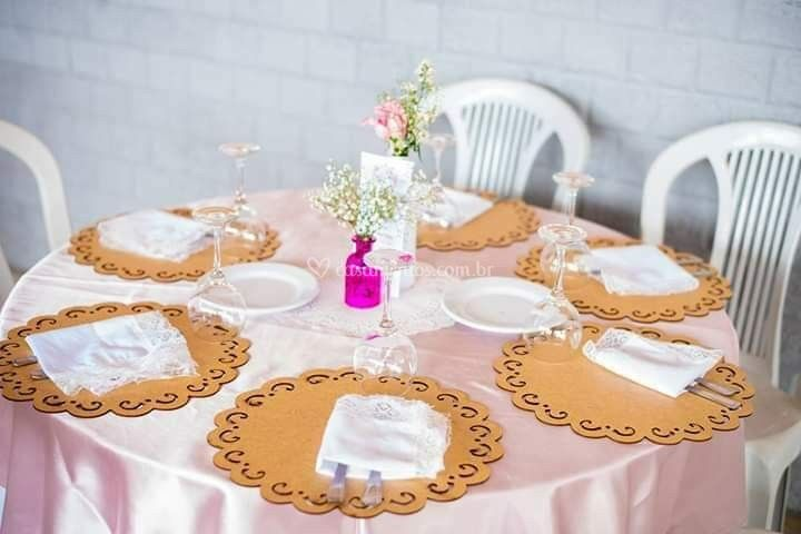 Mesa de convidados casamento F
