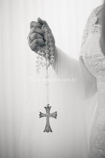 Noiva em foco