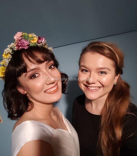 Selfie com a noiva