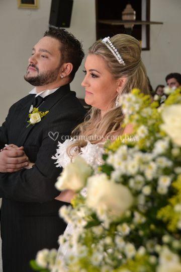 Noivos Gabriela e Gabriel