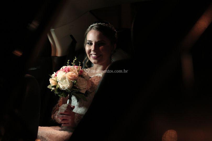 A Noiva esperando seu Momento