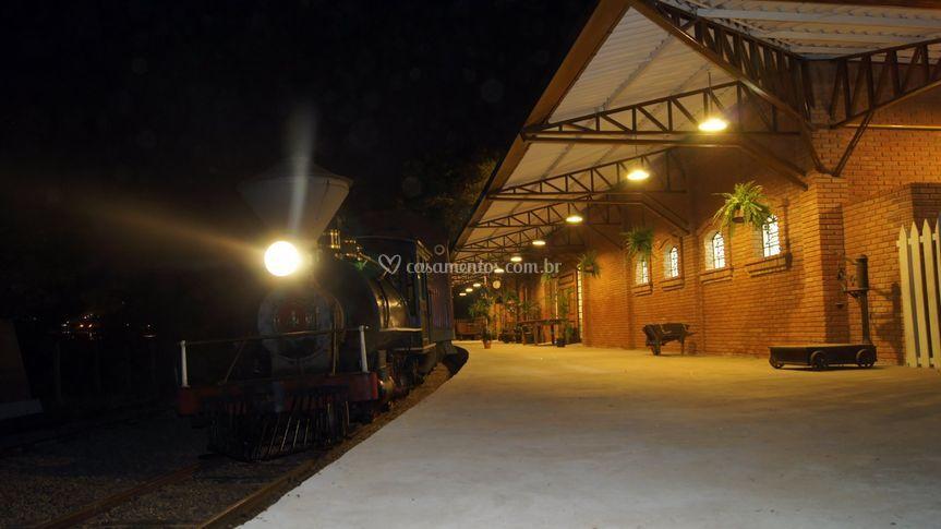 Plataforma da estação