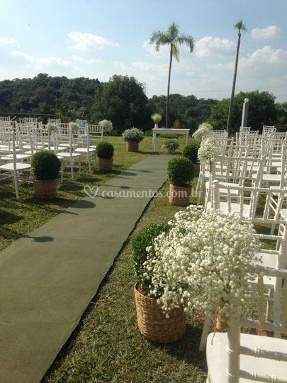 Cerimônia Jardim do Leão