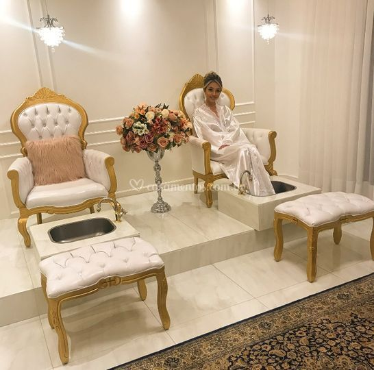 Sala spa dos pés