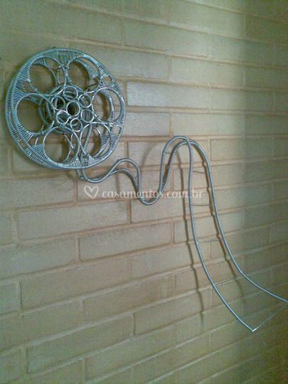 Painel decorativo - cinema