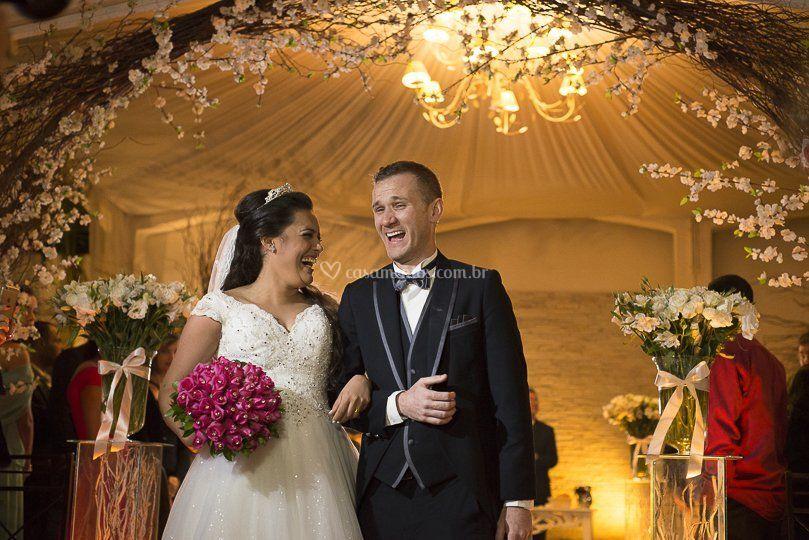 Casamento noite