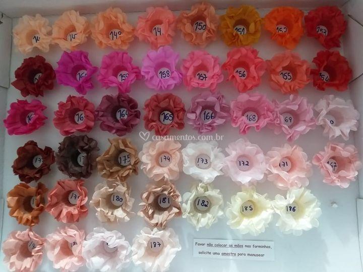 Formas de flor