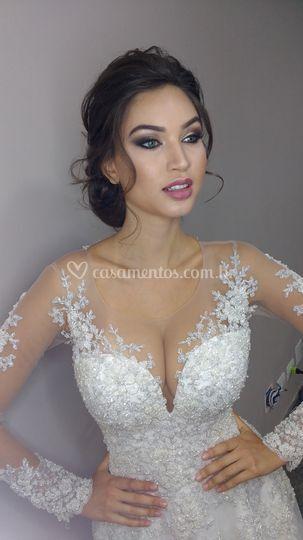 Que noiva linda!
