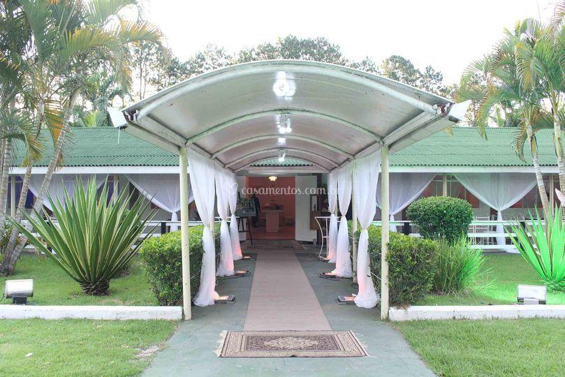 Entrada do Salão Nobre