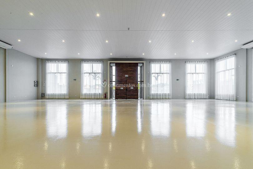 Salão parte interna