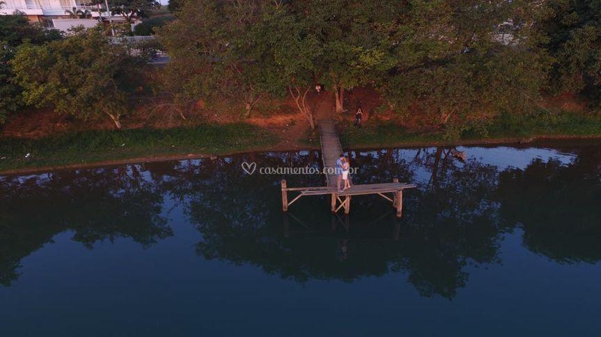 Imagens aéreas drone