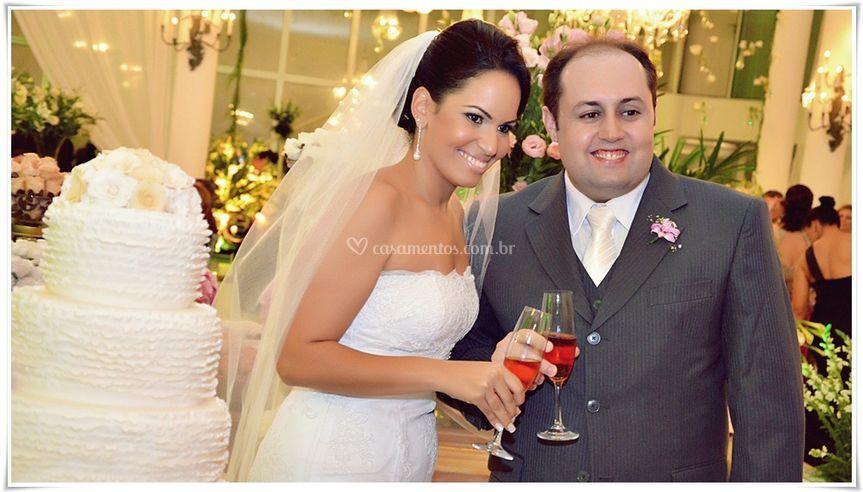 Casamento com Foto de Marca