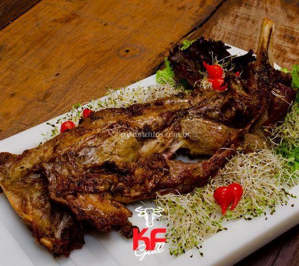 Churrasco de carne nobre