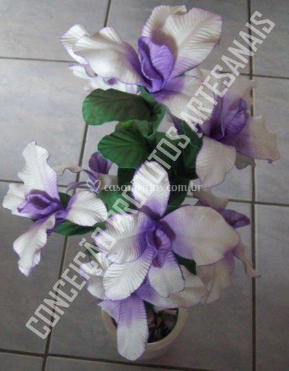 Arranjo de orquidea catléia pe
