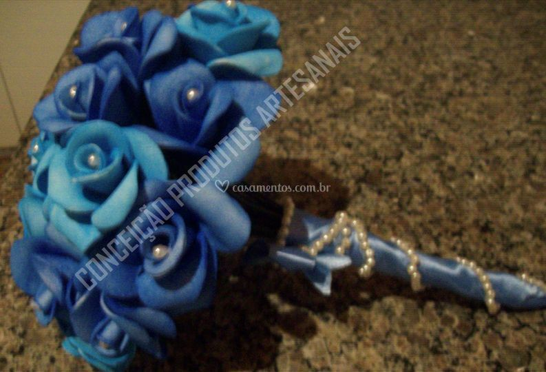 Buquê azul perfumados