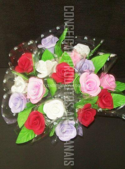 Lembrancinhas de rosas