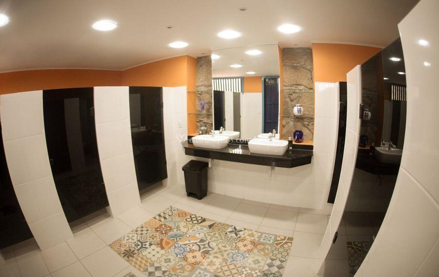 Banheiro Feminino para os eventos
