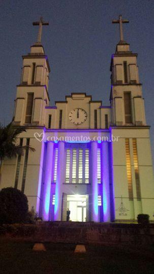 Luz decorativa Igreja