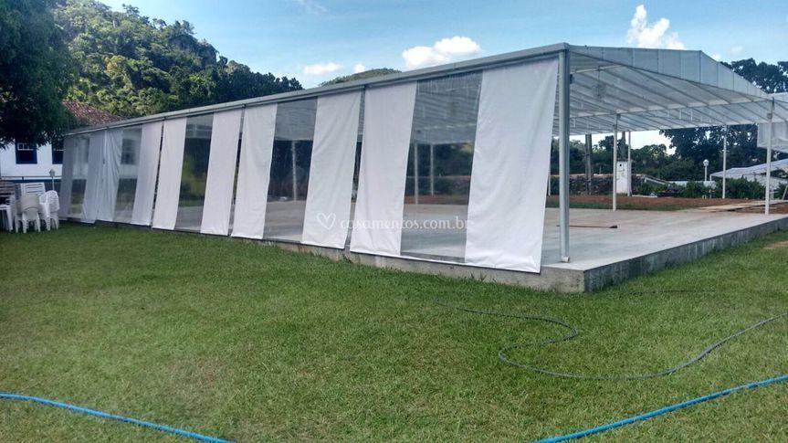 Tenda 20x10 metros