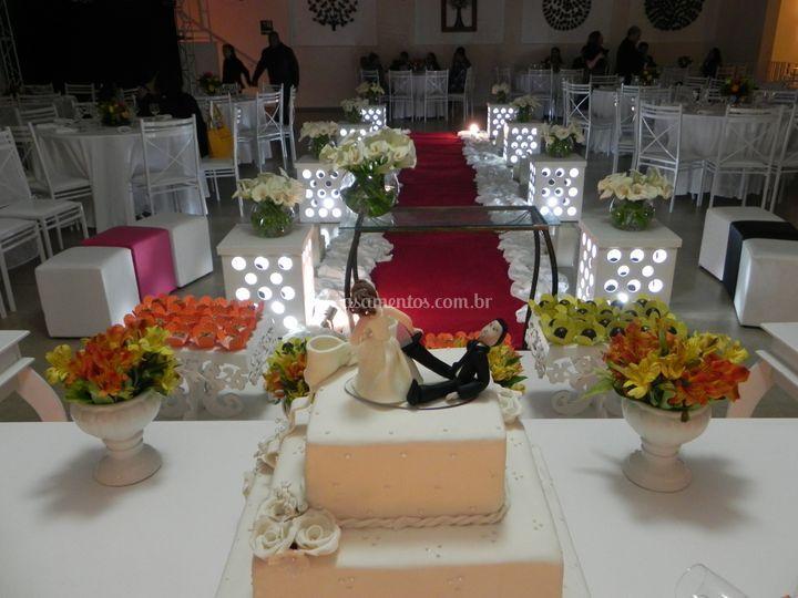 Cerimônia no Vila Real