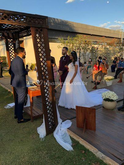 Casamento Alexandre e Mikaelle