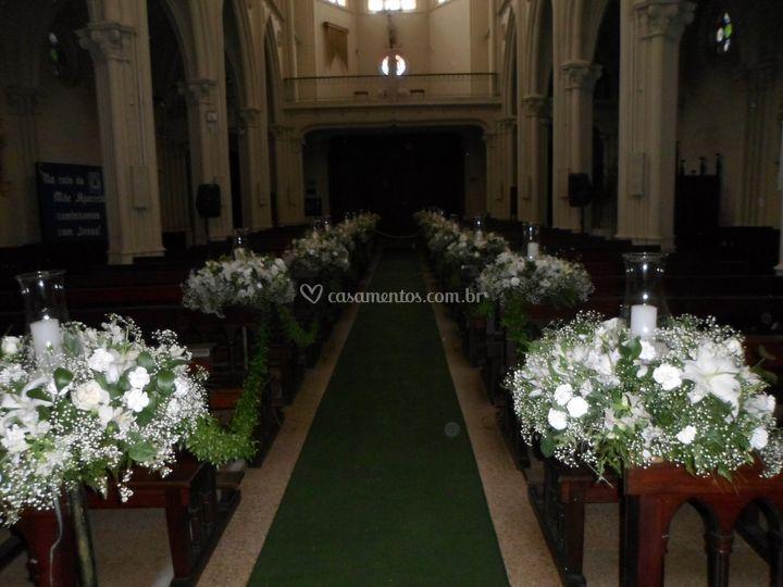 Decoração altar 01