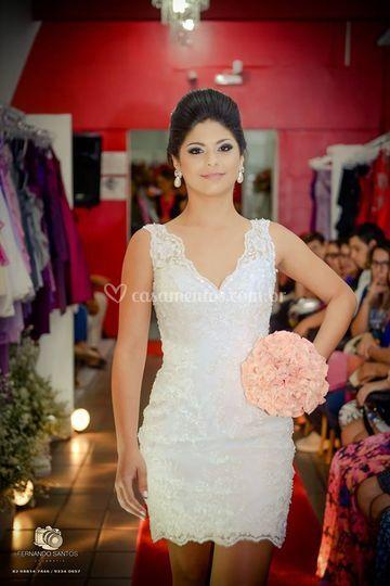 Vestido de Noiva-Modelo 2 em 1 de Arrazo Noivas e Noivos